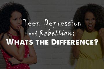 Teen Depression Rebellion