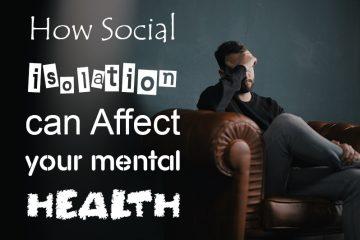 Social Isolation effect mental health