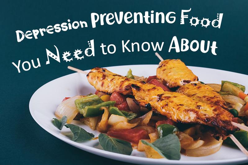 Depression preventing food