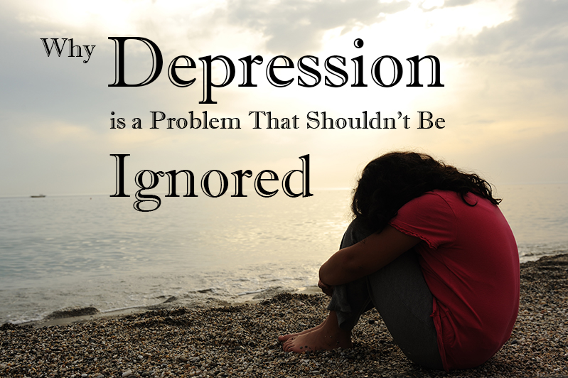 Depression shouldn't be ignored